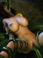 First time lesbian Elven Priestess gets punished
