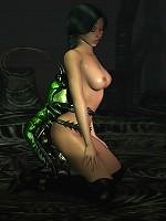 Stunning 3D Secretary screwed