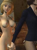 Dickgirls in bondage
