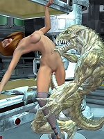 3D Boss gets assfucked real deep by 3D Dude