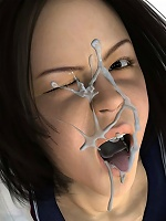 Insane Nurse takes sperm and comes