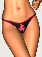 Toon hotty in panties teasing you