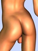 Nude redhead toon dickgirl