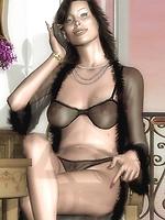 Hot mature lesbians temptation
