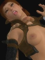 Lara Croft fucked by Tentacle Monster