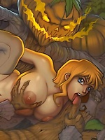 Sharming Hentai ladies with monsters