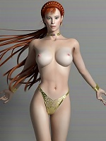 3D Fantasy Heroine was banged by 3D Orc