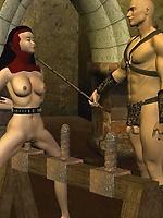 Slave nun dungeon