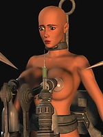 Slave clones turned into sex toys